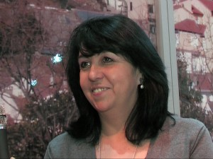 FITUR 2010 Beatriz Diaz alcaldesa de Casillas