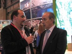 FITUR 2010 Jose Luis Troitino Sercret CEDER y alcalde de El Arenal