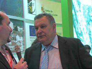 FITUR 2010 Moises Sanchez alcalde de Lanzahita