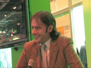 FITUR 2010 Oscar Tapias alcalde de Arenas de San Pedro