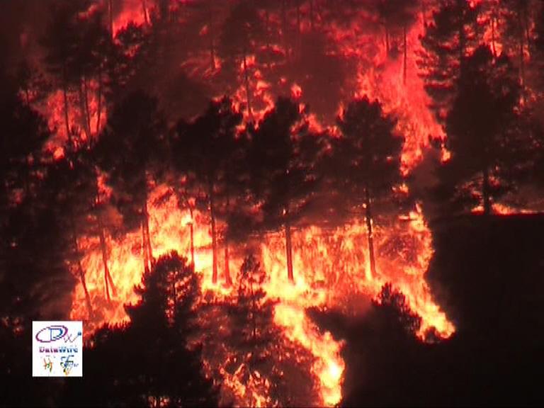 Incendio Forestal en Gredos - TiétarTeVe