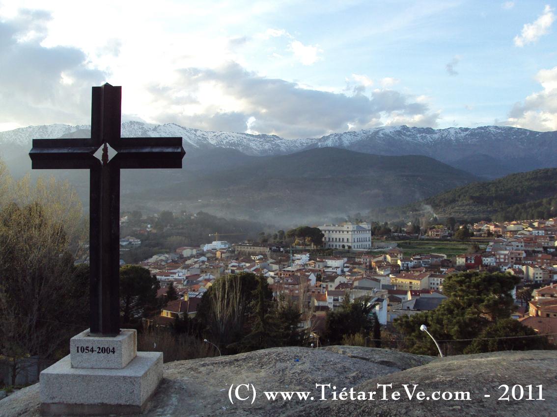 Arenas de San Pedro visto desde La Cruz del Pilar de San Agustín