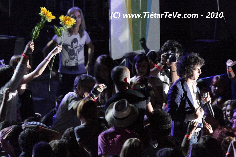 21 de Agosto de 2010 Sidonie en el Castillo de Arenas