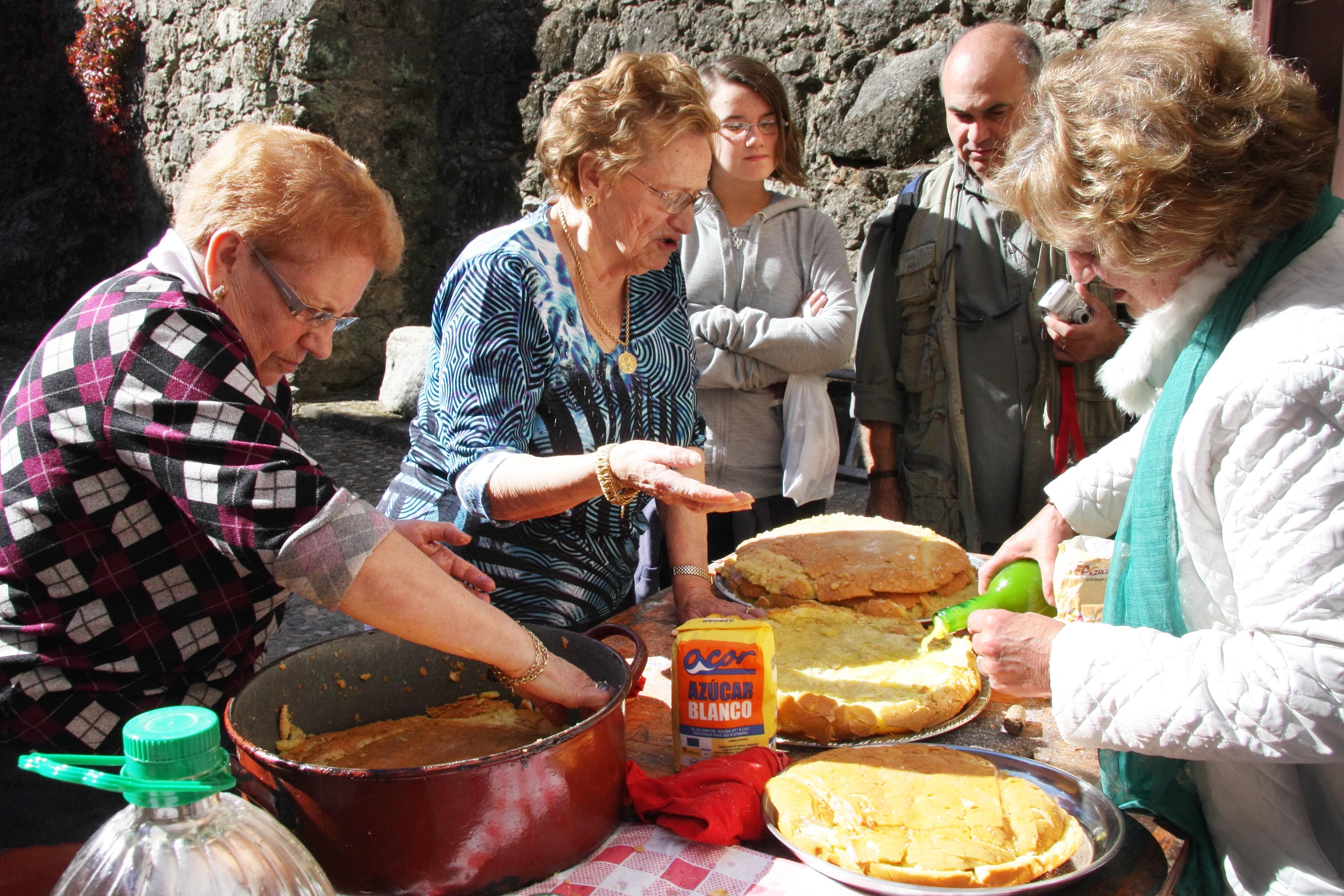 Gastronomía del Valle del Tiétar - Sopetón - TiétarTeVe