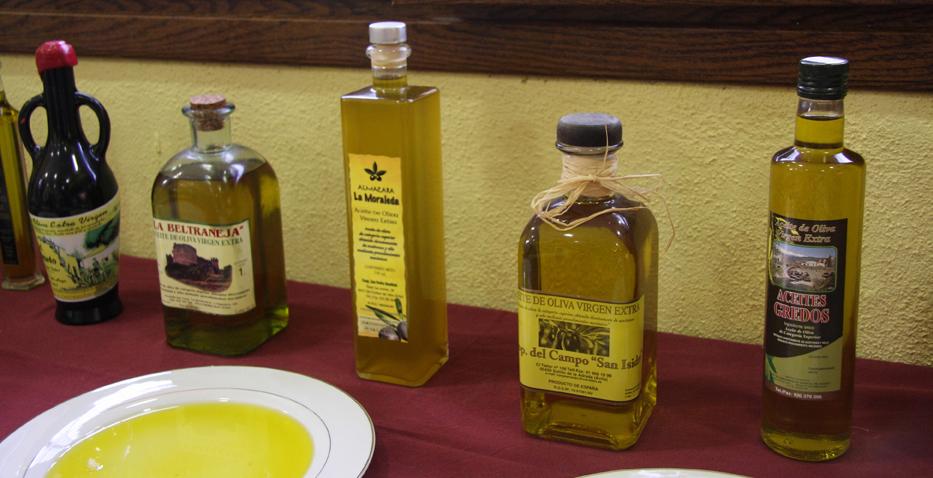 Gastronomía del Valle del Tiétar - Aceite de Oliva Virgen Extra - TiétarTeVe