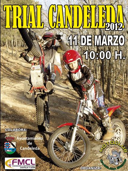 Póster Trial de Candeleda 2012