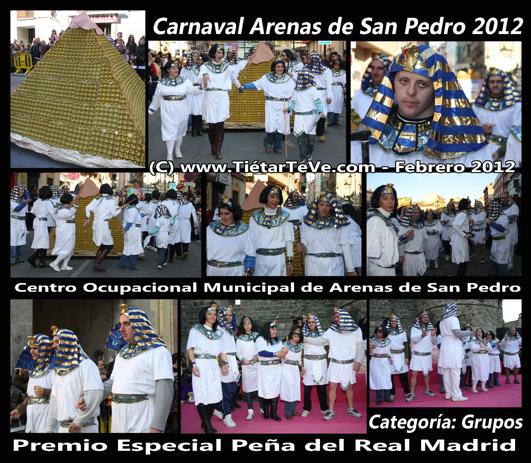 Carnaval Adultos 2012 - Centro Ocupacional Municipal