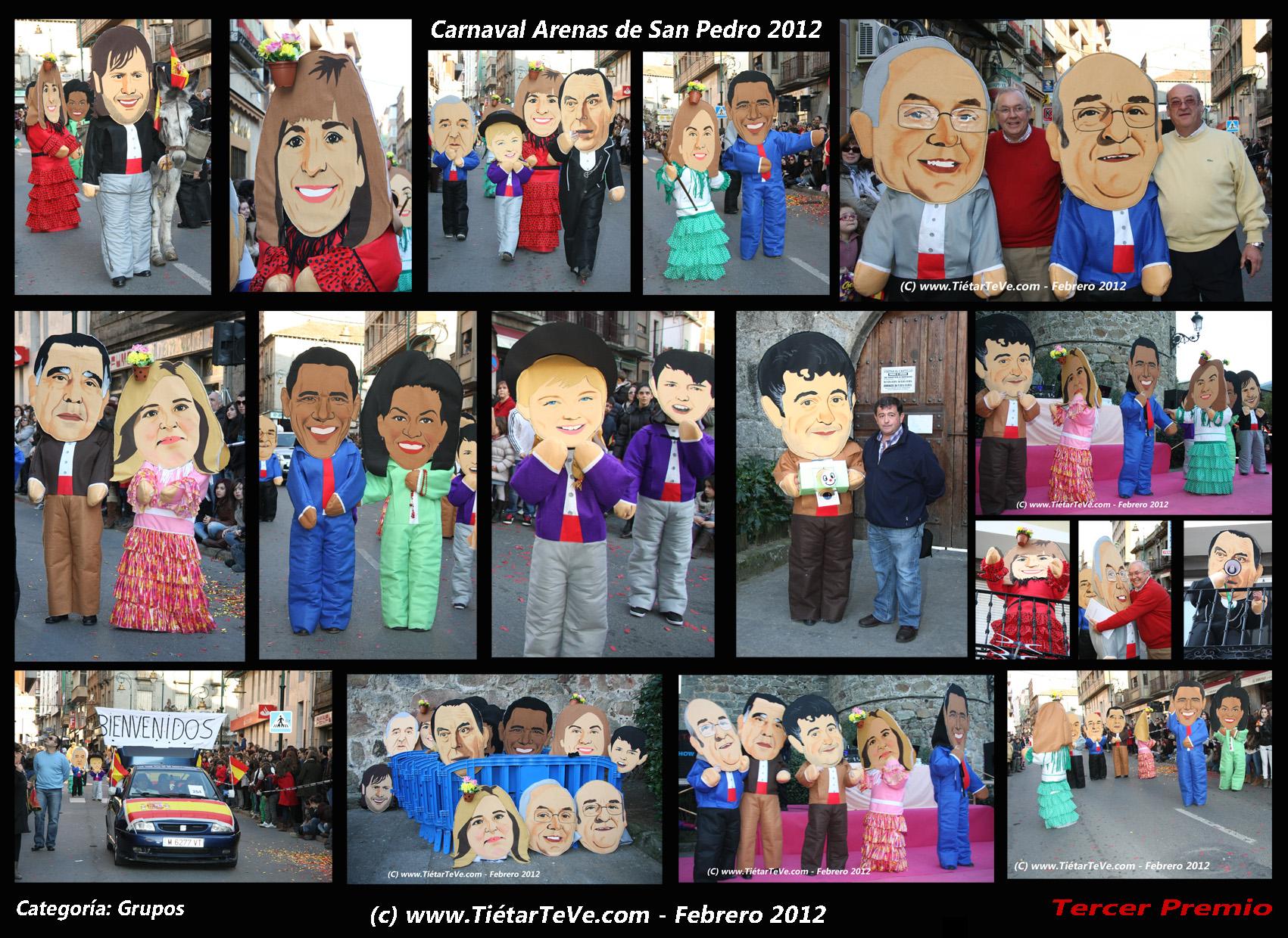 "Carnaval Arenas 2012 - ""Bienvenido Mr. Marshall"" en Clonetes"