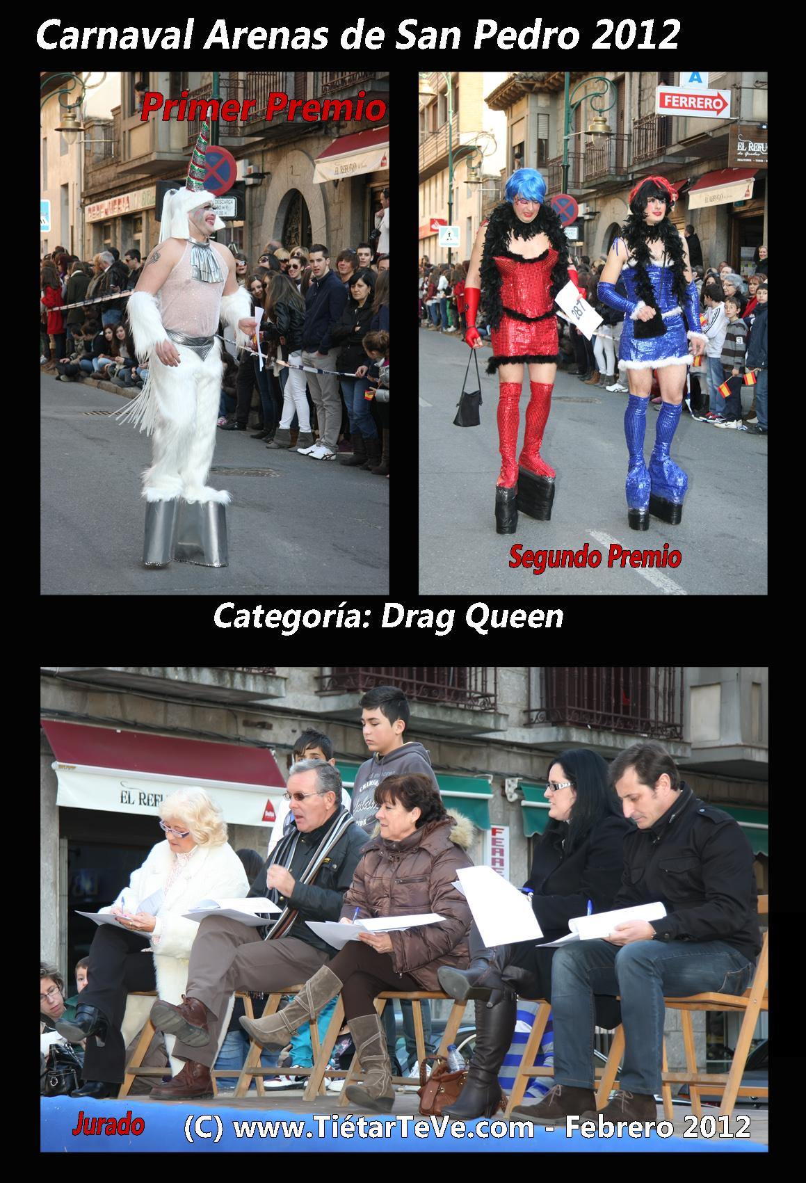Carnaval Arenas 2012 - Drag Queen y Jurado