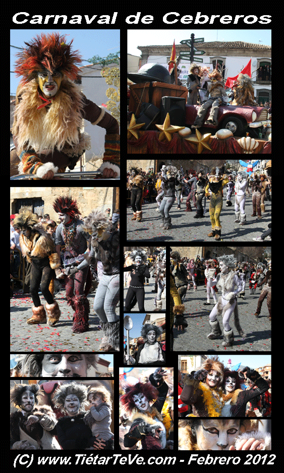 Carnaval de Cebreros 2012 - CATS