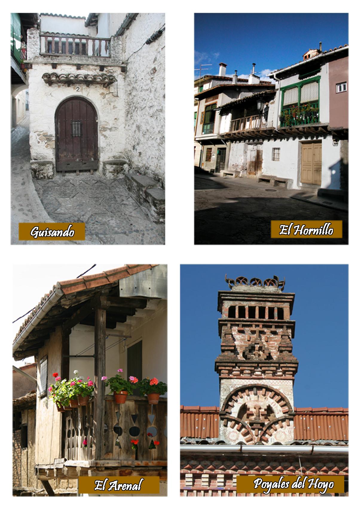 Guisando, El Hornillo, El Arenal y Poyales del Hoyo