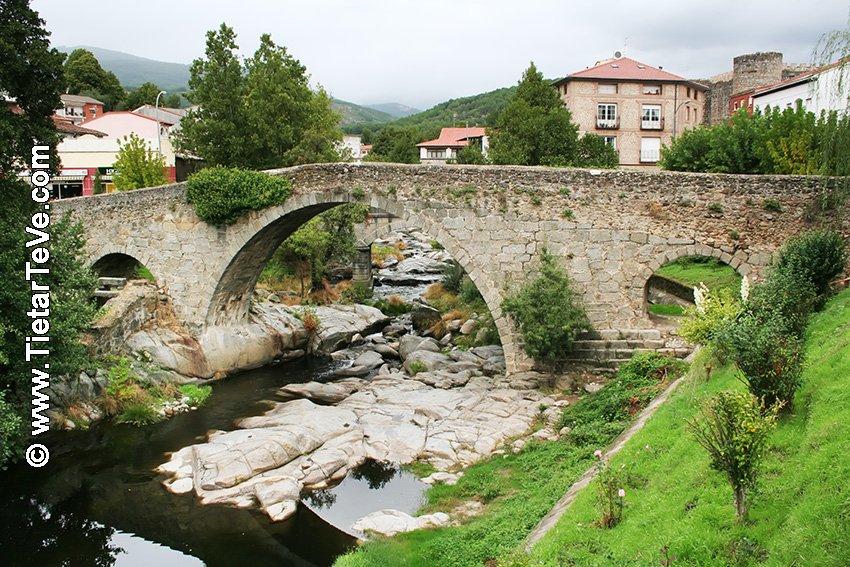 Puente Medieval Aquelcabos - Arenas de San Pedro