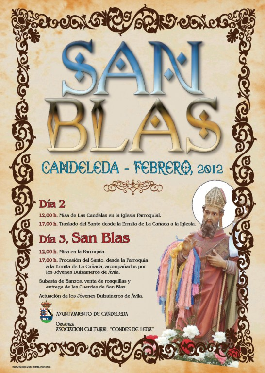San Blas Candeleda2012