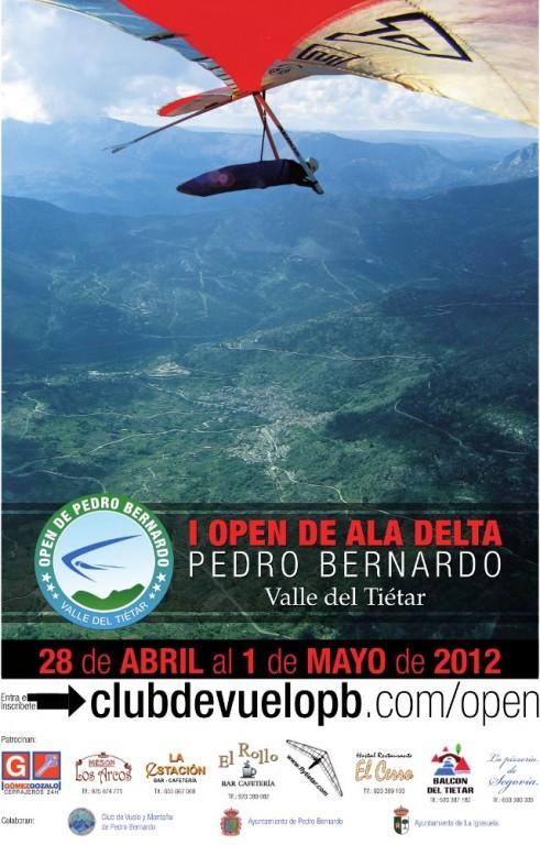 Cartel Open Ala Delta Pedro Bernardo 2012