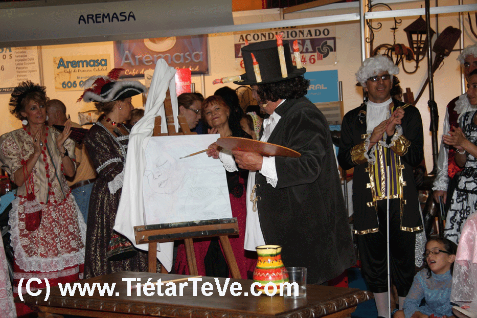 """Luis Reina como Goya en """"El Tiempo Pinta"""" - 13 de Agosto de 2011"""