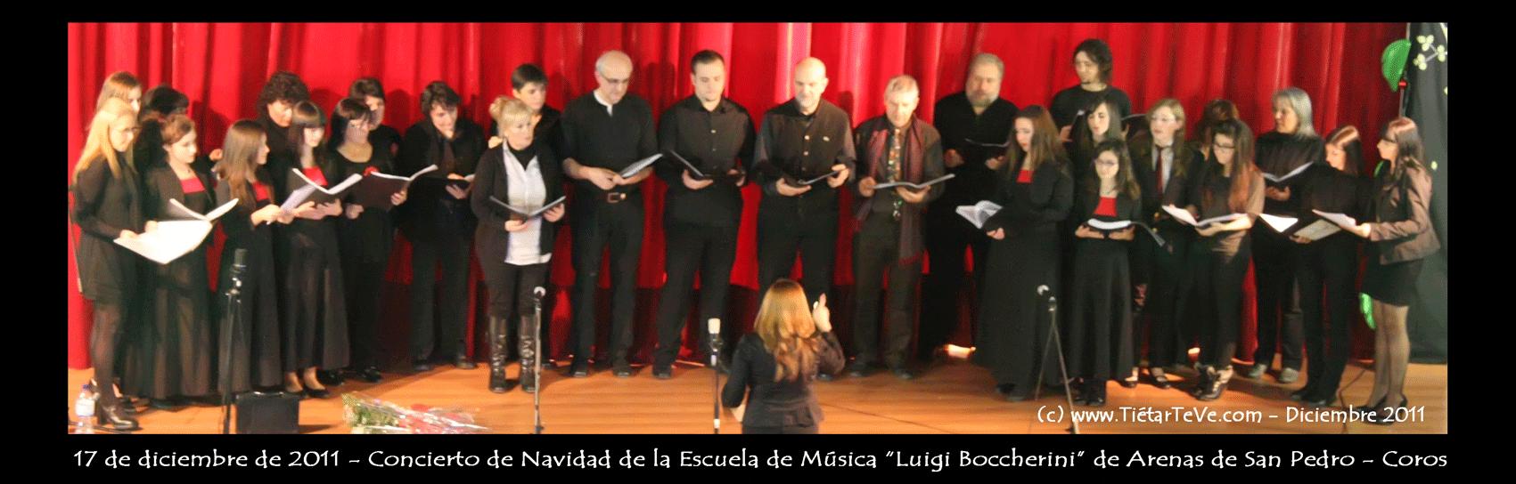 Coros de la Escuela Municipal de Música de Arenas de San Pedro