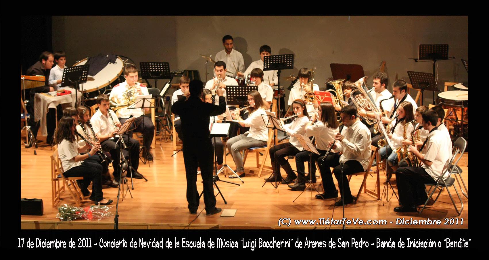 """""""Bandita"""" de la Escuela Municipal de Música de Arenas de San Pedro"""
