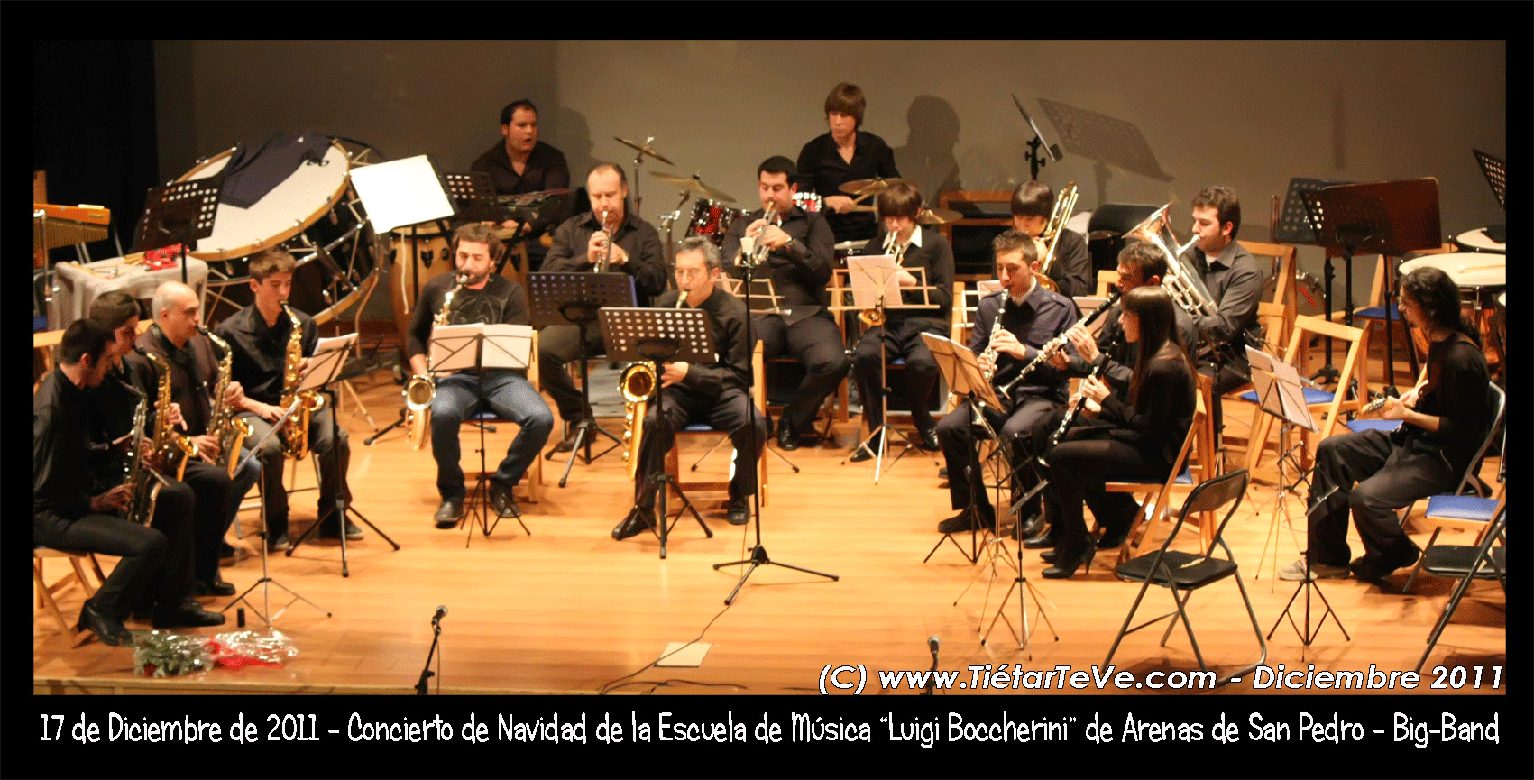Big Band de la Escuela Municipal de Música de Arenas de San Pedro