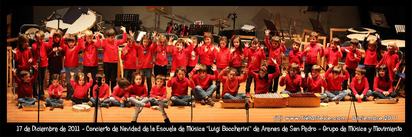 Aula de Música y Movimiento de la Escuela Municipal de Música de Arenas de San Pedro