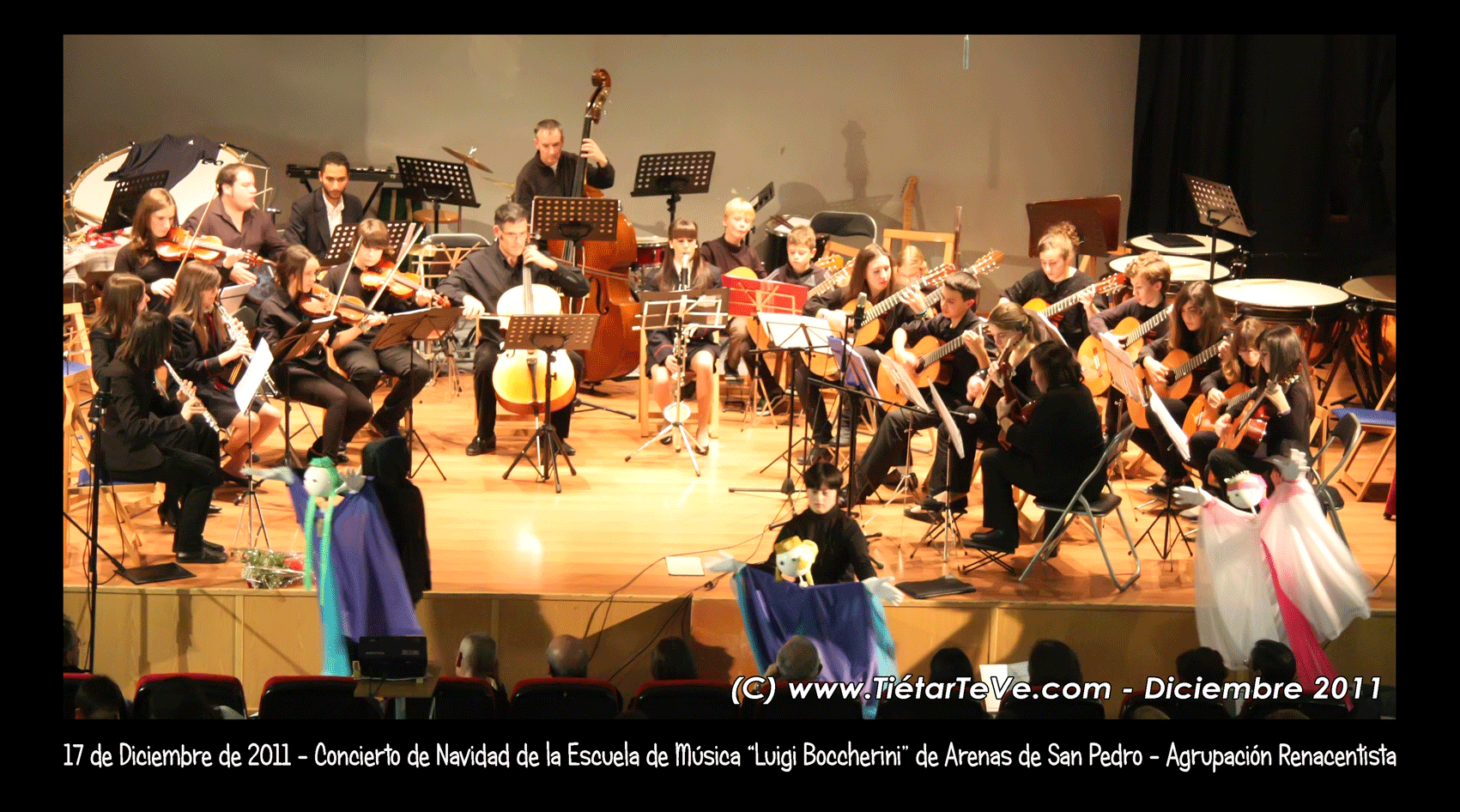 Agrupación Renacentista de la Escuela Municipal de Música de Arenas de San Pedro