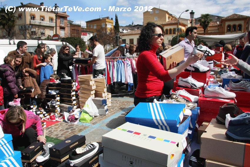 I Arenas Stock en la Plaza del Castillo