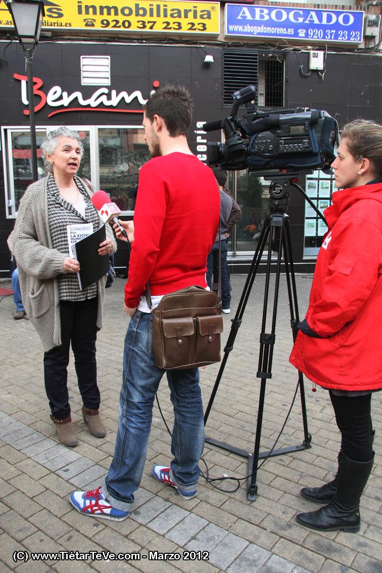 Entrevista al AMPA por la TV de Castilla y León