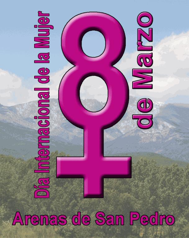Cartel 8 Marzo 2012 Día Mujer - Arenas de San Pedro
