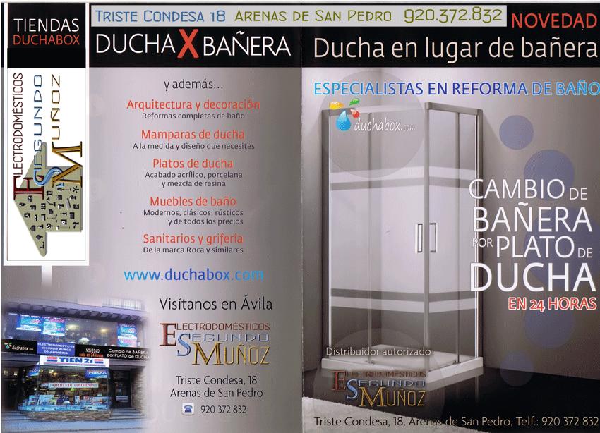 Electrodomésticos Segundo Muñoz - DuchaBox - Arenas de San Pedro - TiétarTeVe