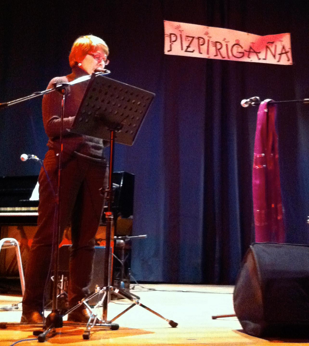 Juana Sánchez, de la Asociación Cultural Pizpirigaña