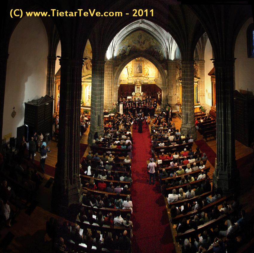 Coros y Orquesta de Cuerda de la Escuela Municipal de Música de Arenas de San Pedro