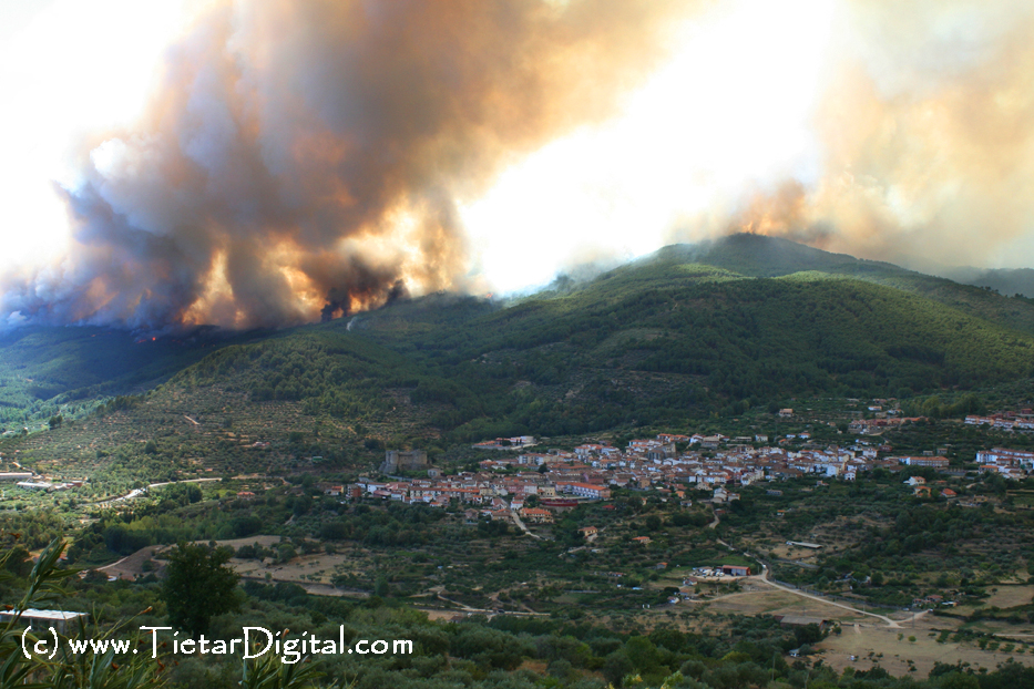 Incendio del Valle del Tiétar del 2009