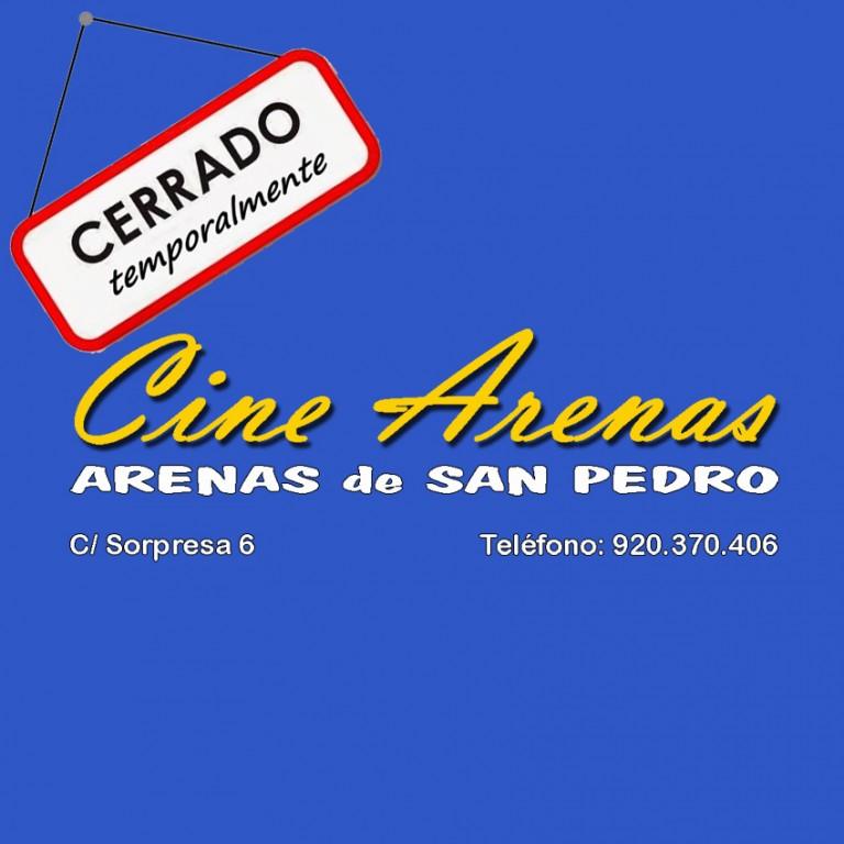 Cine Arenas Cerrado Temporalmente - Arenas de San Pedro - TiétarTeVe