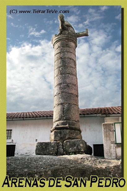 Bienes de Interés Cultural - El Rollo de Arenas de San Pedro
