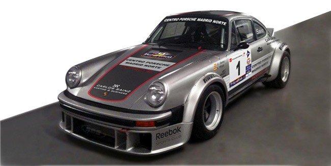 Porsche 911 Rallye de España histórico