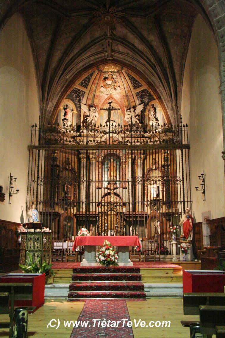 Bienes de Interés Cultural - Interior de Iglesia parroquial de San Esteban del Valle