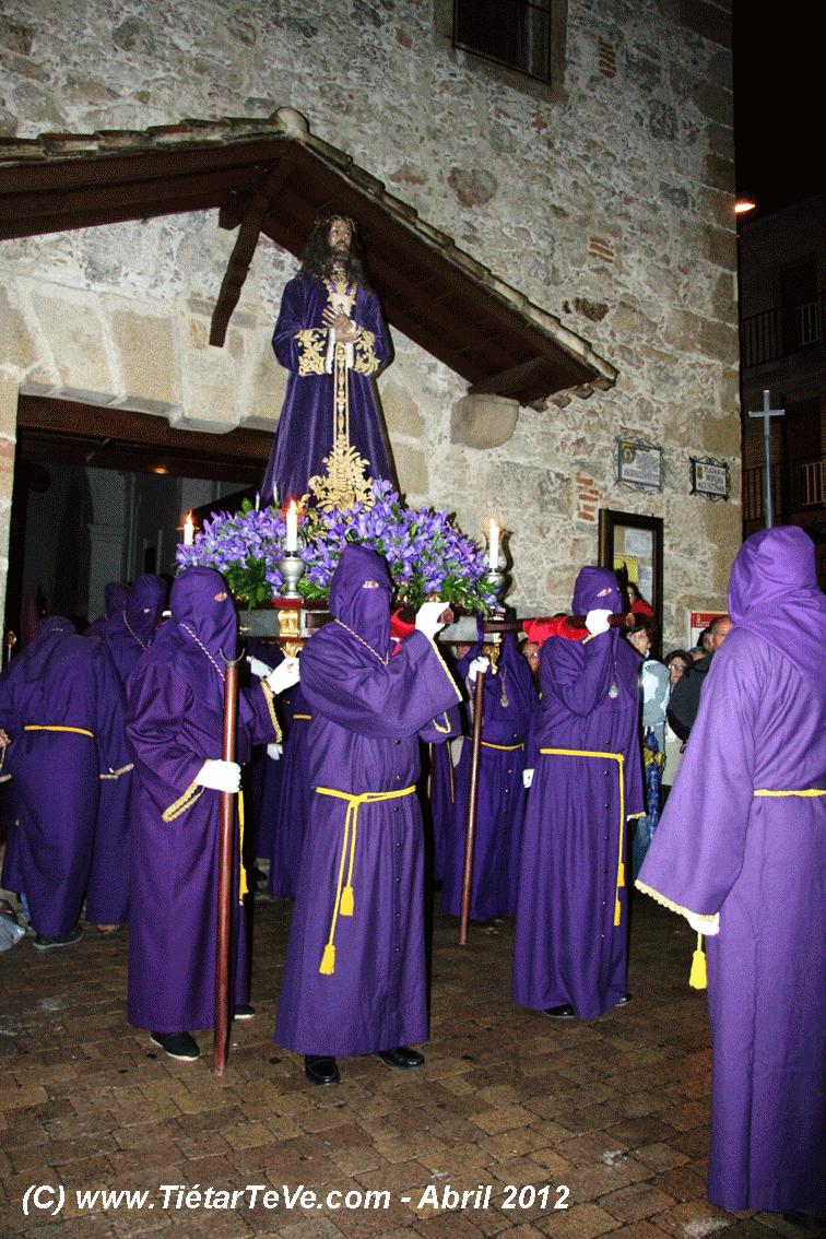 Semana Santa de Arenas de San Pedro - Procesión del Silencio - TiétarTeVe