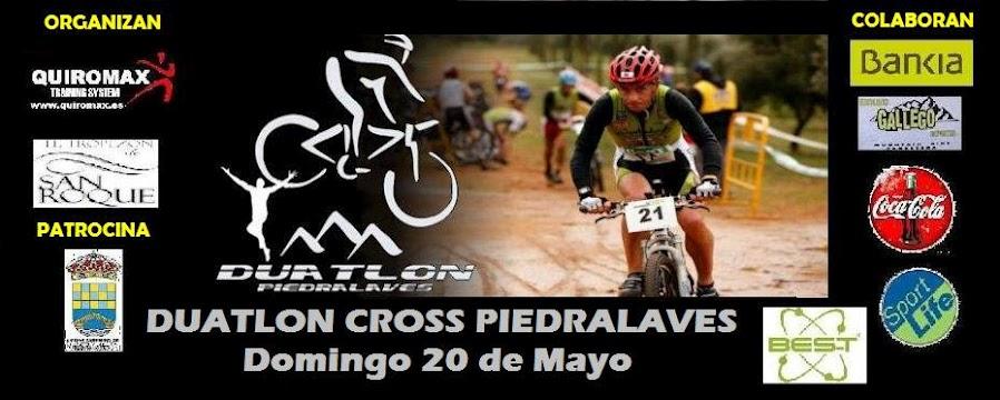 I Duatlon Cross de Piedralaves