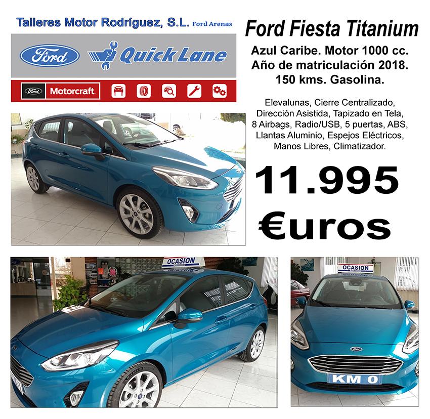 Ford Fiesta Titanium - Ford Arenas - Arenas de San Pedro - TiétarTeVe