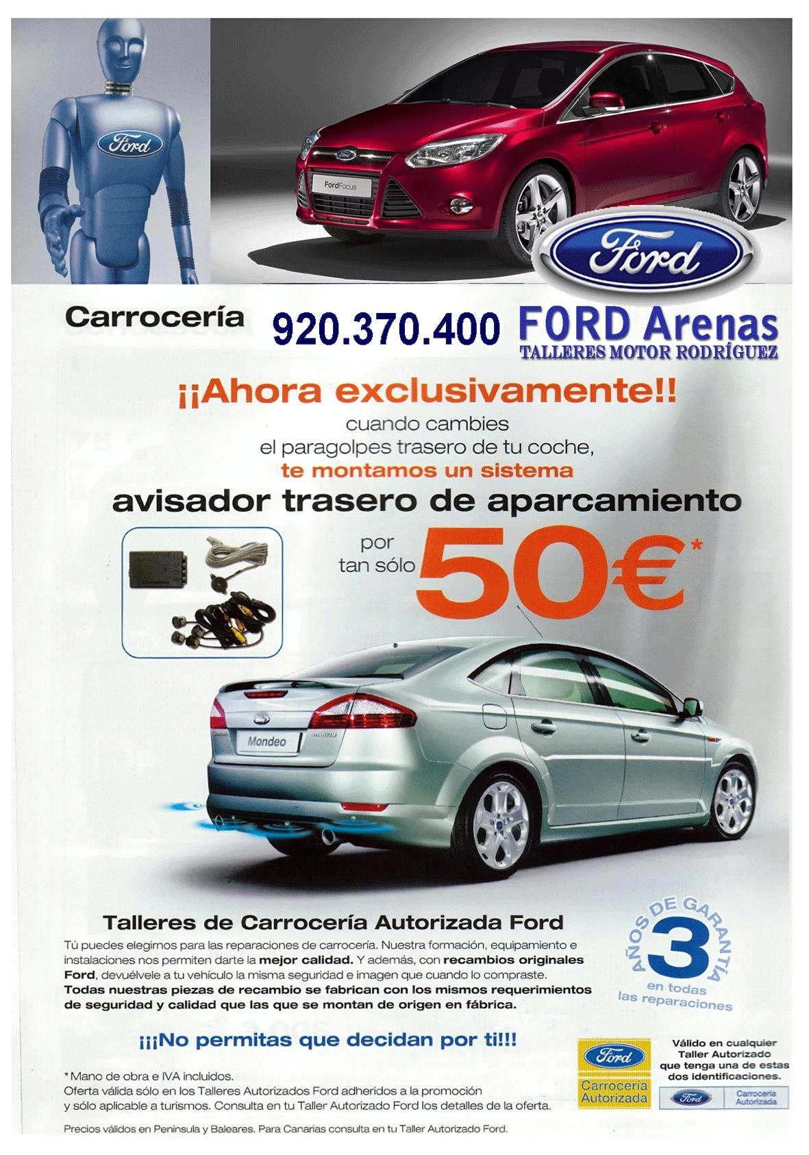 Oferta Día de la Madre Ford Arenas de Arenas de San Pedro - TiétarTeVe