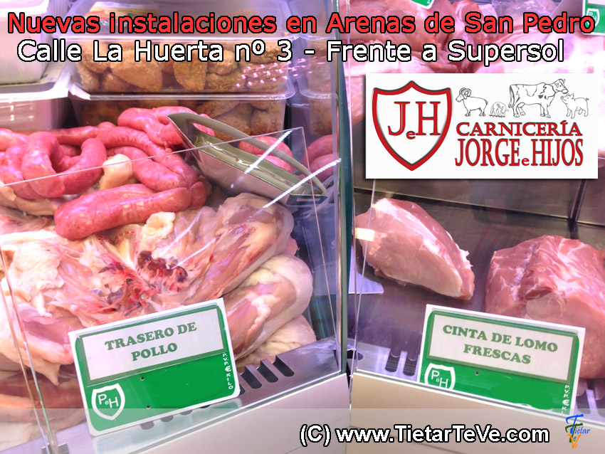 Carniceria Jorge e Hijos - Arenas de San Pedro - TiétarTeVe