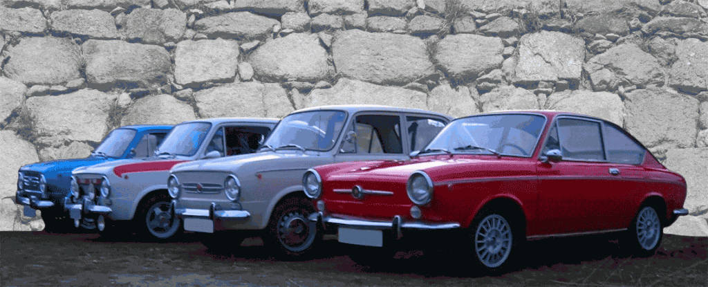 Coches Clasicos Seat 850 Berlina