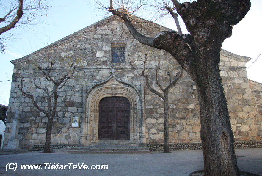 Bienes de Interés Cultural - Exterior Iglesia Candeleda