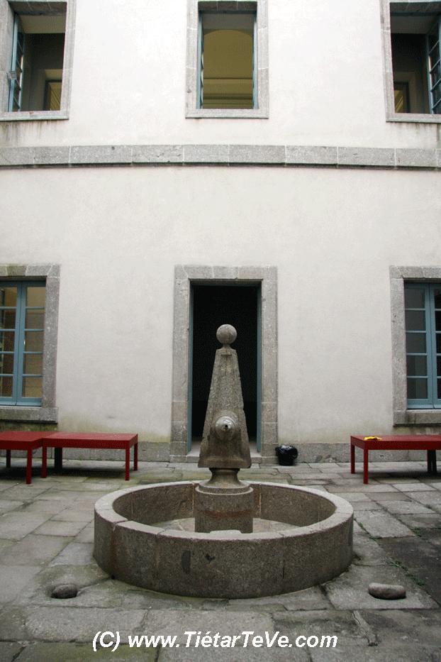 Bienes de Interés Cultural - Patio Interior del Palacio de la Mosquera de Arenas de San Pedro