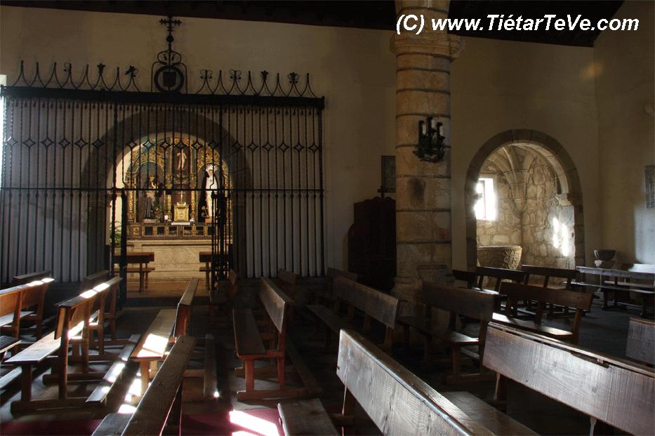 Bienes de Interés Cultural - Interior Iglesia Candeleda