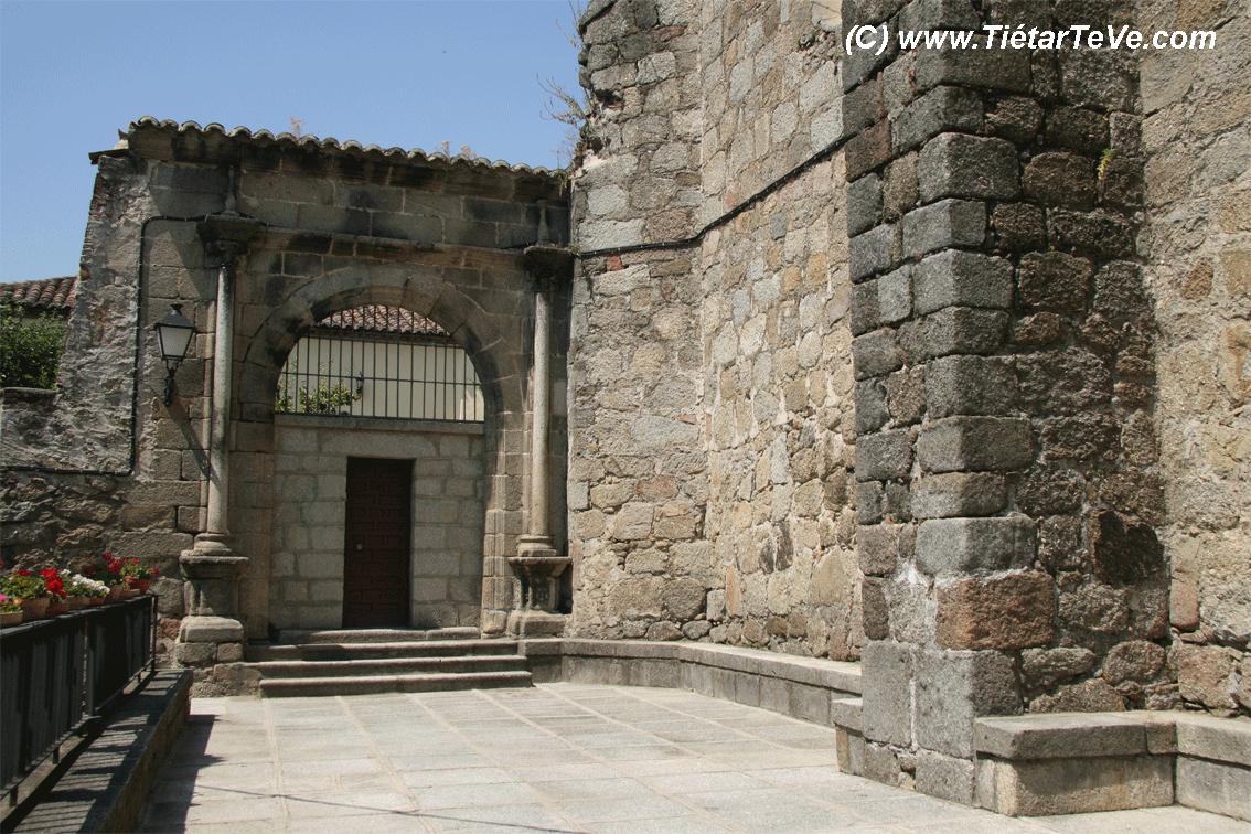 Bienes de Interés Cultural - Vista exterior de la Iglesia de San Juan Bautista de Mombeltrán