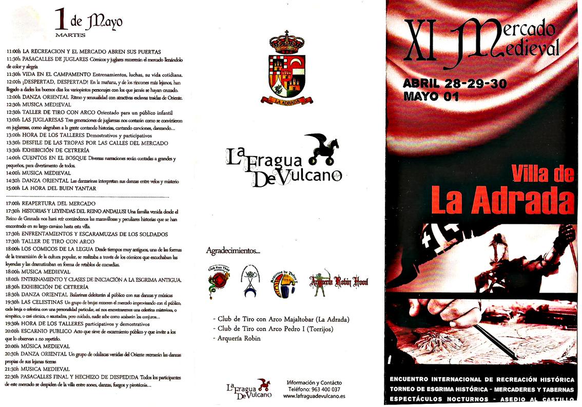 Programa XI Mercado Medieval La Adrada 2012 - Página 2