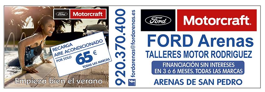 Recarga Aire Acondicionado - Ford Arenas - Arenas de San Pedro - TiétarTeve
