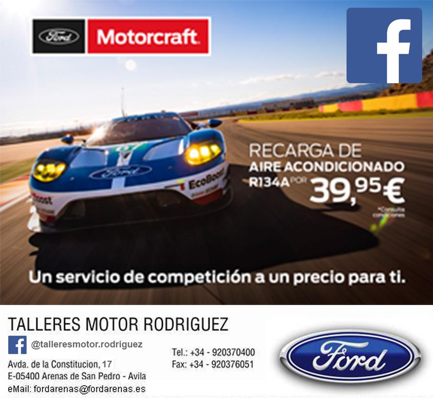 Recarga Aire Acondicionado Ford Arenas - Arenas de San Pedro - TiétarTeVe