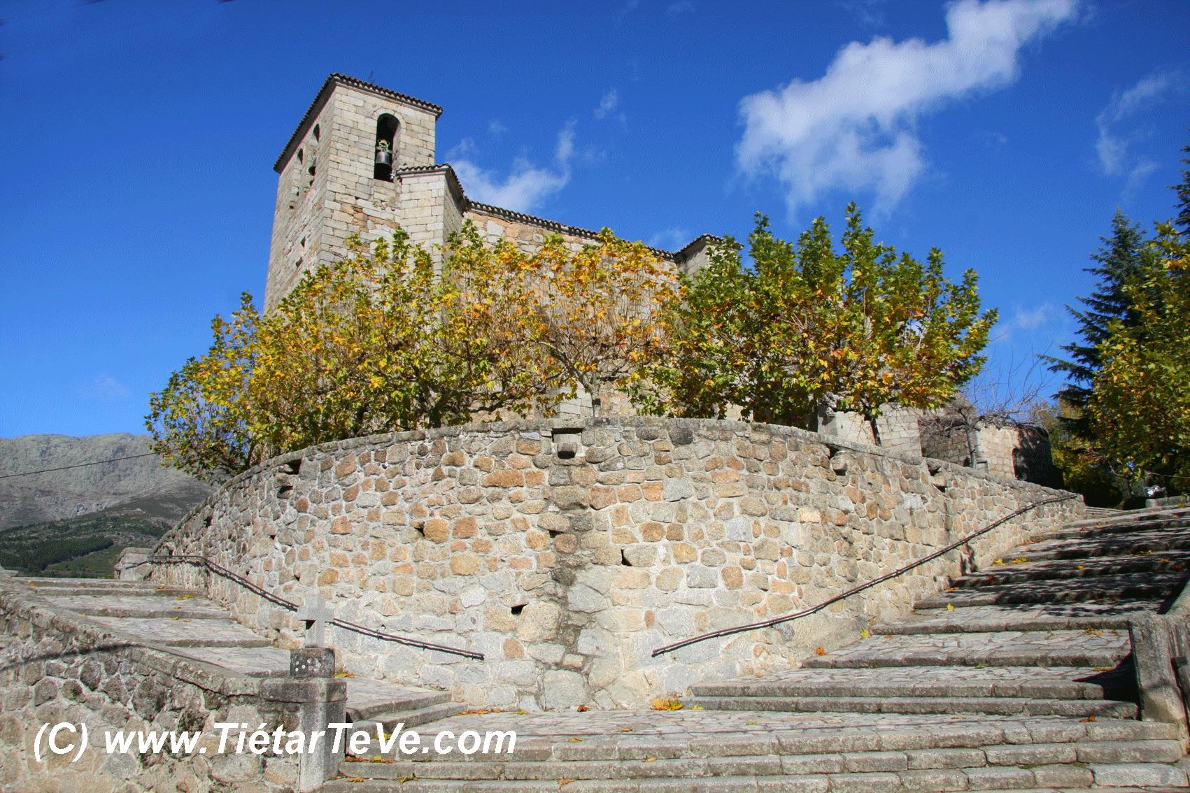 Bienes de Interés Cultural - Exterior de la Iglesia parroquial de San Esteban del Valle