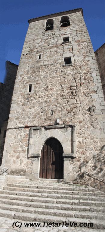 Bienes de Interés Cultural - Torre Campanario de la Iglesia parroquial de San Esteban del Valle
